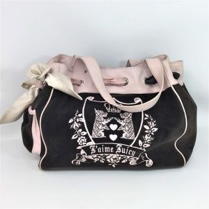 Vintage Juicy Couture Brown  Scotty Daydreamer Bag